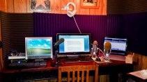 Diana's home studio.